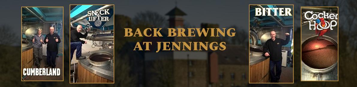 Back Brewing at Jennings