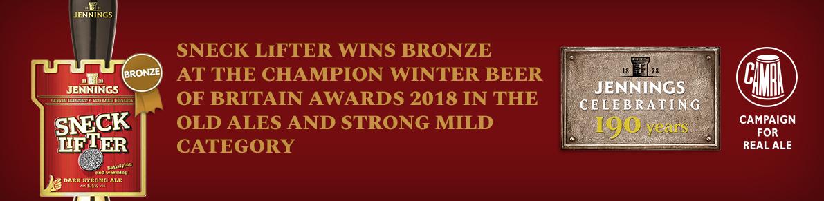 Sneck Lifter wins bronze