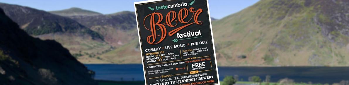 Taste Cumbria Beer Festival