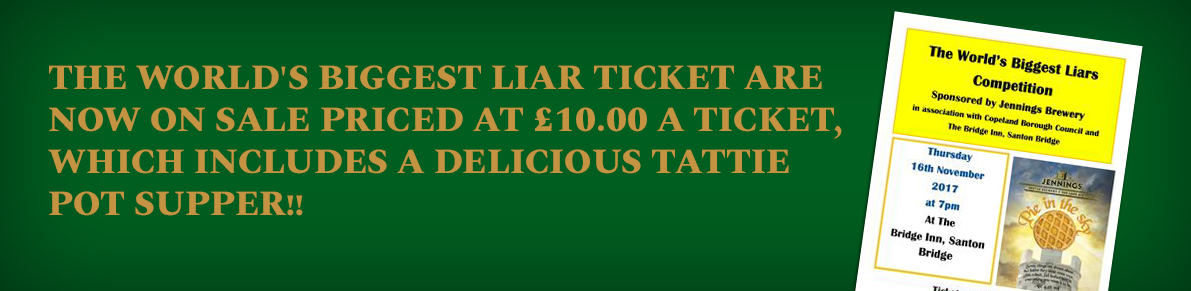 World's Biggest Liar Tickets on Sale Now