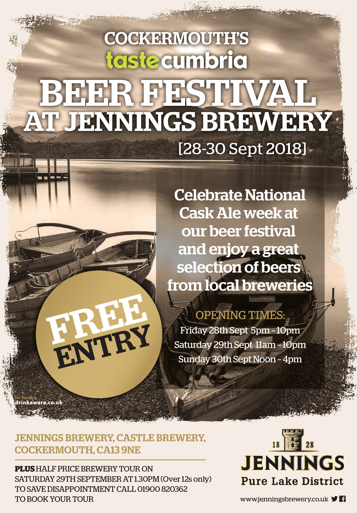 Beer Festival at Jennings Brewery