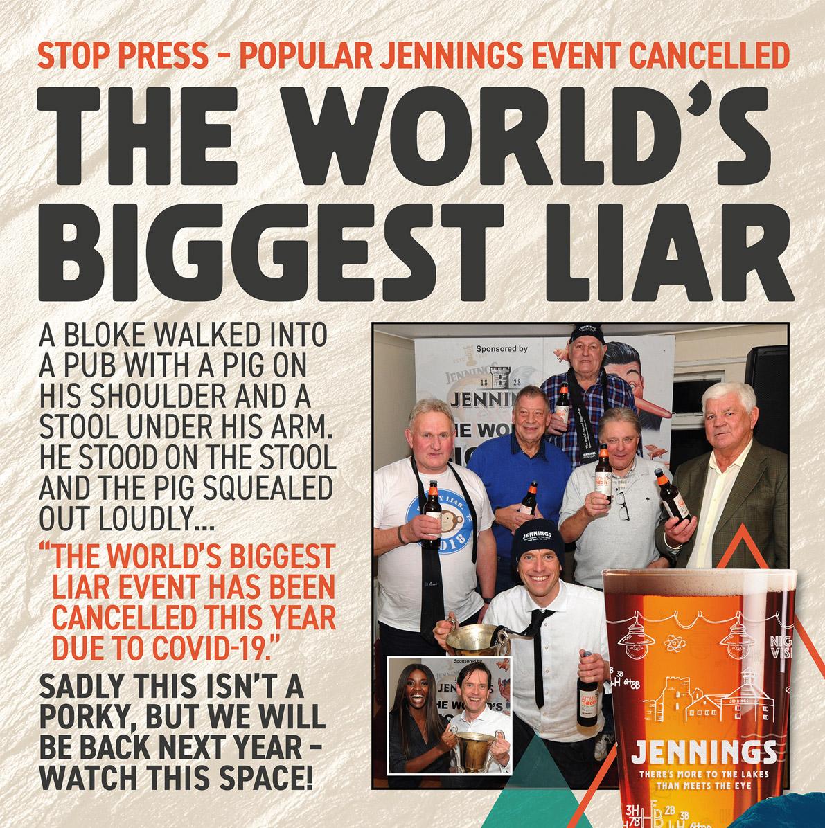Biggest Liar Cancelled